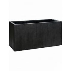 Кашпо Pottery Pots Fiberstone jort M размер antique grey, серого цвета Длина — 100 см