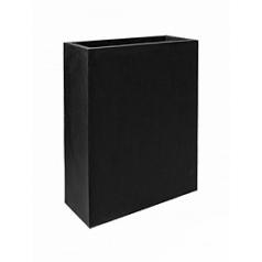Кашпо Pottery Pots Fiberstone jort slim black, чёрного цвета M размер Длина — 61 см