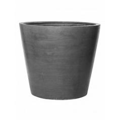 Кашпо Pottery Pots Fiberstone jumbo cone grey, серого цвета M размер  Диаметр — 98 см