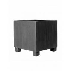 Кашпо Pottery Pots Fiberstone jumbo grey, серого цвета L размер Длина — 90 см