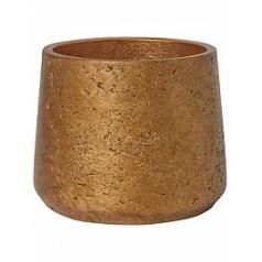 Кашпо Pottery Pots Eco-line patt L размер metalic copper  Диаметр — 20 см