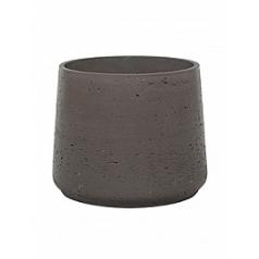 Кашпо Pottery Pots Eco-line patt M размер chocolate  Диаметр — 15 см