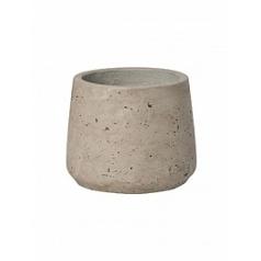 Кашпо Pottery Pots Eco-line patt S размер grey, серого цвета washed  Диаметр — 135 см