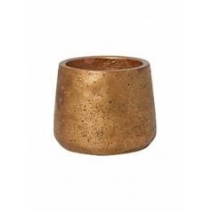 Кашпо Pottery Pots Eco-line patt S размер metalic copper  Диаметр — 135 см