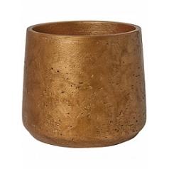 Кашпо Pottery Pots Eco-line patt XL размер metalic copper  Диаметр — 23 см
