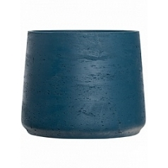 Кашпо Pottery Pots Eco-line patt XXL размер teal washed  Диаметр — 34 см