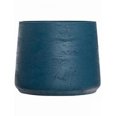 Кашпо Pottery Pots Eco-line patt XXL размер teal washed  Диаметр — 34 см