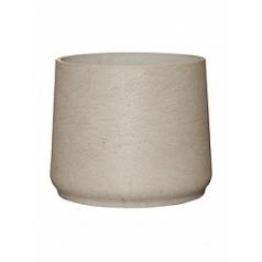 Кашпо Pottery Pots Eco-line patt XXXL размер grey, серого цвета washed  Диаметр — 45 см