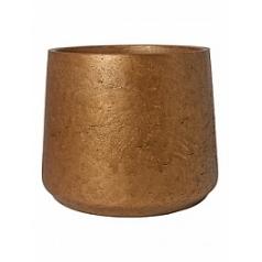 Кашпо Pottery Pots Eco-line patt XXXL размер metallic copper  Диаметр — 45 см
