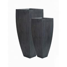 Кашпо Pottery Pots Fiberstone ace grey, серого цвета (2) Длина — 465 см