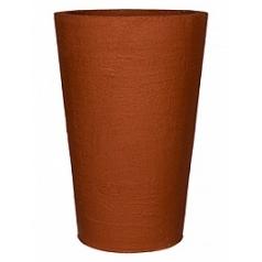 Кашпо Pottery Pots Fiberstone earth belle l, desert red, красного цвета  Диаметр — 60 см