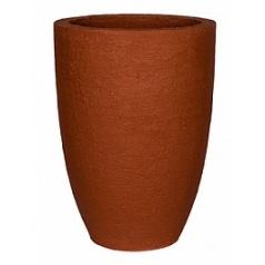 Кашпо Pottery Pots Fiberstone earth ben xl, desert red, красного цвета  Диаметр — 52 см