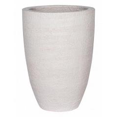 Кашпо Pottery Pots Fiberstone earth ben xl, off white, белого цвета  Диаметр — 52 см