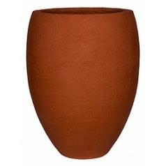 Кашпо Pottery Pots Fiberstone earth bond l, desert red, красного цвета  Диаметр — 68 см