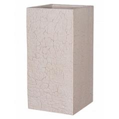 Кашпо Pottery Pots Fiberstone earth bouvy l, sundried white, белого цвета Длина — 40 см