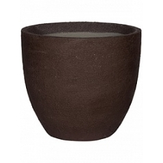 Кашпо Pottery Pots Fiberstone earth jesslyn l, тёмно-коричневого цвета  Диаметр — 70 см