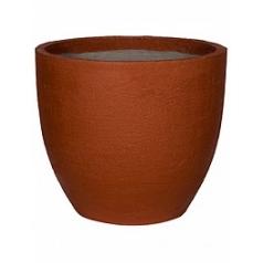 Кашпо Pottery Pots Fiberstone earth jesslyn l, desert red, красного цвета  Диаметр — 70 см