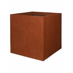 Кашпо Pottery Pots Fiberstone earth jumbo l, sundried red, красного цвета Длина — 90 см