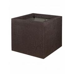 Кашпо Pottery Pots Fiberstone earth jumbo m, sundried brown, коричнево-бурого цвета Длина — 70 см