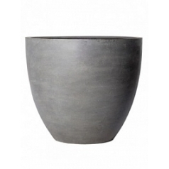 Кашпо Pottery Pots Fiberstone jumbo grey, серого цвета M размер  Диаметр — 98 см