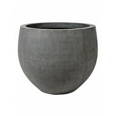 Кашпо Pottery Pots Fiberstone jumbo grey, серого цвета orb S размер  Диаметр — 87 см