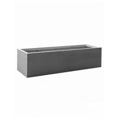 Кашпо Pottery Pots Fiberstone jumbo jort grey, серого цвета M размер Длина — 200 см