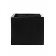 Кашпо Pottery Pots Fiberstone jumbo without feet black, чёрного цвета L размер Длина — 90 см