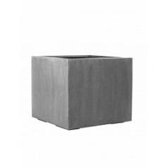 Кашпо Pottery Pots Fiberstone jumbo without feet grey, серого цвета L размер Длина — 90 см