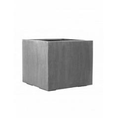 Кашпо Pottery Pots Fiberstone jumbo without feet grey, серого цвета S размер Длина — 50 см