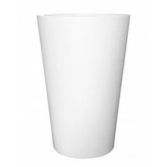 Кашпо Pottery Pots Fiberstone matt white, белого цвета belle XXL размер  Диаметр — 100 см