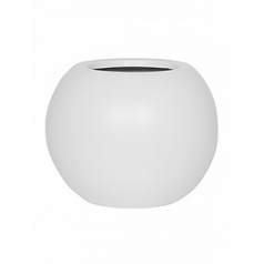 Кашпо Pottery Pots Fiberstone matt white, белого цвета beth S размер  Диаметр — 31 см