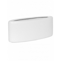 Кашпо Pottery Pots Fiberstone matt white, белого цвета jolin Длина — 44 см