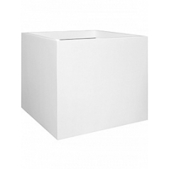Кашпо Pottery Pots Fiberstone matt white, белого цвета jolinmatt white, белого цвета jumbo XL размер Длина — 110 см