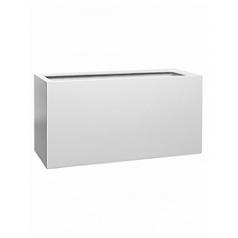 Кашпо Pottery Pots Fiberstone matt white, белого цвета jort M размер Длина — 100 см