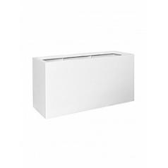 Кашпо Pottery Pots Fiberstone matt white, белого цвета jumbo jort L размер Длина — 120 см
