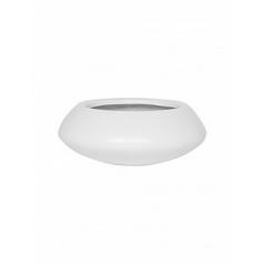 Кашпо Pottery Pots Fiberstone matt white, белого цвета tara XS размер  Диаметр — 305 см