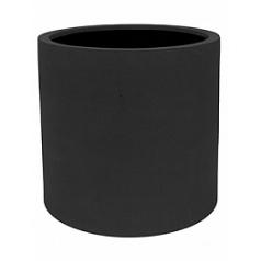 Кашпо Pottery Pots Fiberstone max black, чёрного цвета L размер  Диаметр — 50 см