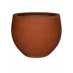Кашпо Pottery Pots Fiberstone earth jumbo orb s, desert red, красного цвета  Диаметр — 87 см