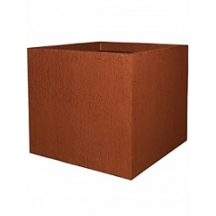 Кашпо Pottery Pots Fiberstone earth jumbo xl, sundried red, красного цвета Длина — 110 см