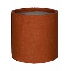 Кашпо Pottery Pots Fiberstone earth max l, desert red, красного цвета  Диаметр — 50 см