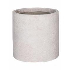 Кашпо Pottery Pots Fiberstone earth max l, off white, белого цвета  Диаметр — 50 см