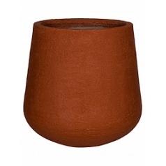 Кашпо Pottery Pots Fiberstone earth pax xl, desert red, красного цвета  Диаметр — 66 см