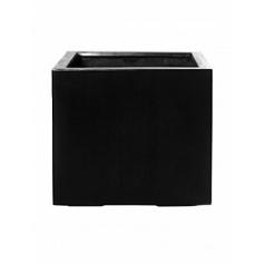 Кашпо Pottery Pots Fiberstone glossy grey, серого цвета jumbo without feet L размер Длина — 90 см