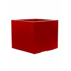 Кашпо Pottery Pots Fiberstone glossy red, красного цвета jumbo L размер Длина — 90 см