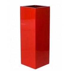 Кашпо Pottery Pots Fiberstone glossy red, красного цвета yang Длина — 35 см