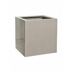 Кашпо Pottery Pots Fiberstone glossy sand block M размер Длина — 40 см