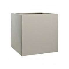 Кашпо Pottery Pots Fiberstone glossy sand block XL размер Длина — 60 см