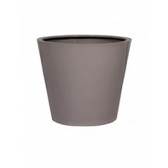 Кашпо Pottery Pots Fiberstone glossy sand bucket S размер  Диаметр — 49 см