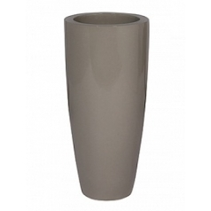 Кашпо Pottery Pots Fiberstone glossy sand dax L размер  Диаметр — 37 см