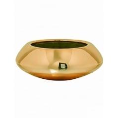 Кашпо Pottery Pots Fiberstone platinum glossy tara XS размер  Диаметр — 305 см